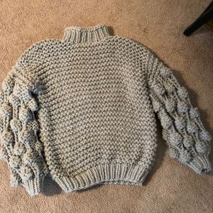 Sweaters - Handmade, Oversized Gray Sweater